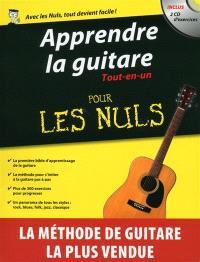 Apprendre la guitare : tout-en-un pour les nuls