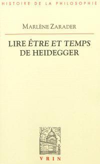 Lire Etre et temps de Heidegger