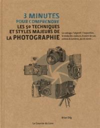 3 minutes pour comprendre les 50 techniques et styles majeurs de la photographie : le cadrage, l'objectif, l'exposition, le rendu des couleurs, le point de vue, ombres & lumières, jeu de miroir...