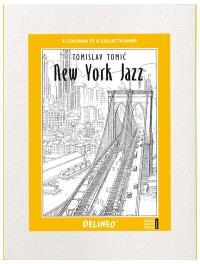 New York jazz : à colorier et à collectionner