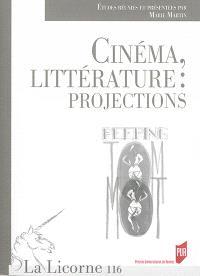 Cinéma, littérature : projections