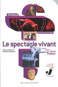 Le spectacle vivant : opéra, cirque, danse, théâtre