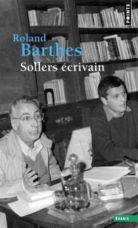 Sollers écrivain
