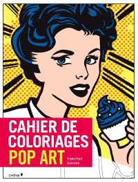 Cahier de coloriages : pop art