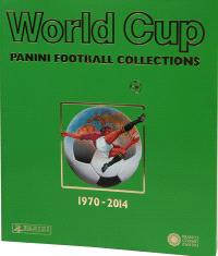 World cup : Panini football collections : 1970-2014