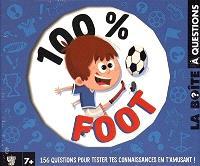 100 % foot : la boîte à questions