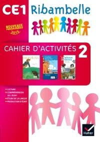 Ribambelle Français CE1 : cahier d'activités et livret d'entraînement 2