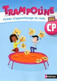Trampoline, CP : fiche d'apprentissage du code