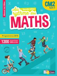Maths CM2, cycle 3 : programmes 2016