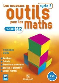 Les nouveaux outils pour les maths : fichier CE2, cycle 2 : programmes 2016