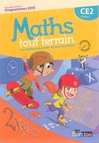 Maths tout terrain CE2, cycle 2 : programmes 2016