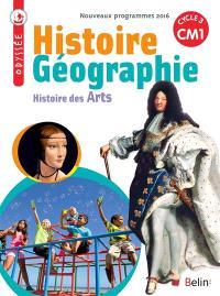 Histoire, géographie, histoire des arts CM1, cycle 3