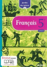 Français 5e, cycle 4 : bimanuel