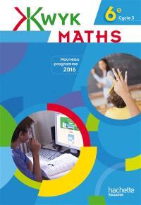 Kwyk maths 6e
