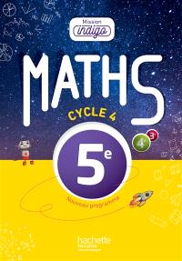 Maths 5e, cycle 4