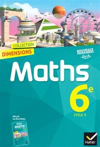 Maths 6e, cycle 3 : nouveaux programmes 2016