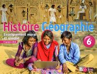 Histoire géographie, enseignement moral et civique, 6e cycle 3 : programme 2016
