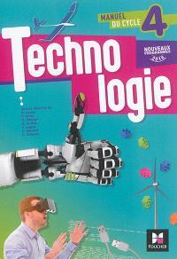Technologie, manuel du cycle 4 : nouveaux programmes 2016