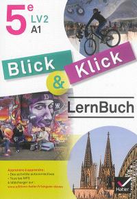 Blick & klick, 5e LV2, A1 : Lernbuch