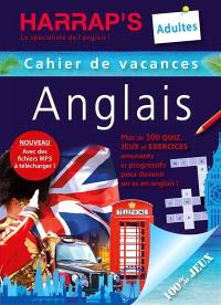 Cahier de vacances anglais : adultes
