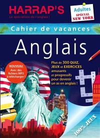 Cahier de vacances anglais Harrap's, adultes : spécial New York