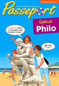 Passeport : spécial philo