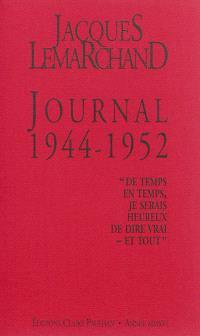 Journal, 1944-1952