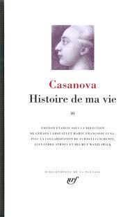 Histoire de ma vie. Volume 3