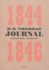 Journal. Volume 3, 7 janvier 1844-15 mai 1846
