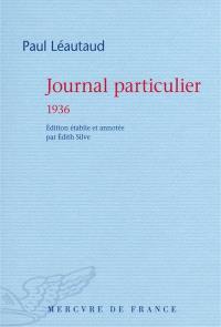 Journal particulier, 1936
