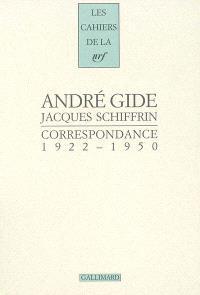 Correspondance (1922-1950)