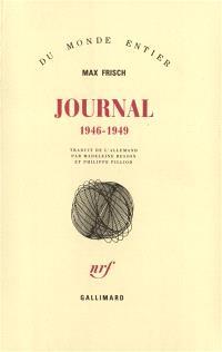 Journal : 1946-1949