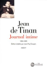 Journal intime : 1894-1895