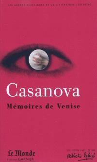 Mémoires de Venise : choix de textes