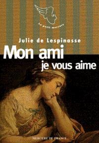 Mourir d'aimer : lettres à Monsieur de Guibert