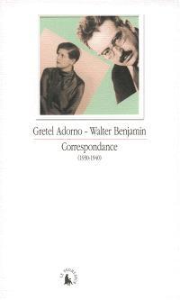 Correspondance : 1930-1940
