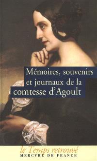 Mémoires, souvenirs et journaux de la comtesse d'Agoult (Daniel Stern)