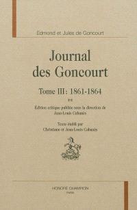 Journal des Goncourt. Volume 3, 1861-1864