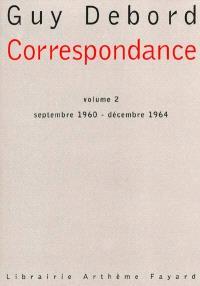 Correspondance. Volume 2