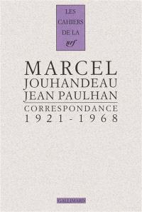 Correspondance : 1921-1968