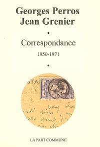 Correspondance : 1950-1971