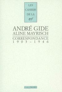 Correspondance 1903-1946
