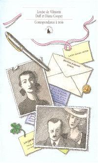 Correspondance à trois (1944-1953)