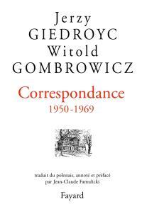 Correspondance, 1950-1969