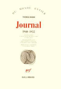Journal. Volume 2, 1940-1955