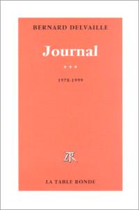 Journal. Volume 3, 1978-1999