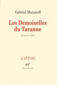 Les demoiselles de Taranne : journal 1988