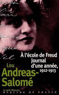 A l'école de Freud, journal d'une année de Lou Andreas-Salomé