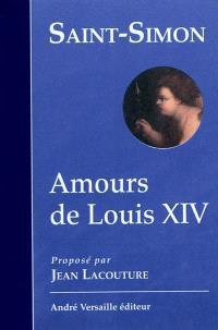 Amours de Louis XIV