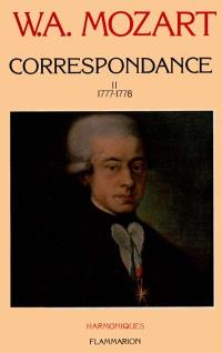 Correspondance. Volume 2, 1777-1778
